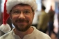 Geoff Voelker santa hat